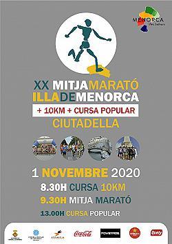 10 km i XX Mitja Marató de Menorca 2020