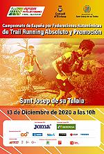 Campeonato de España de TrailRunning - 21 km Open 2020