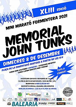 XLII MINI MARATO - MEMORIAL JOHN TUNKS 2020