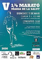 V Quart de Marató Maria de la Salut 2021