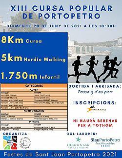 XIII Cursa Festes de Sant Joan Portopetro 2021 2021