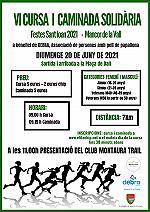 VI cursa i caminada Mancorina Solidària 2021
