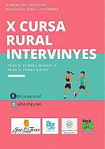 X Cursa rural intervinyes 2021