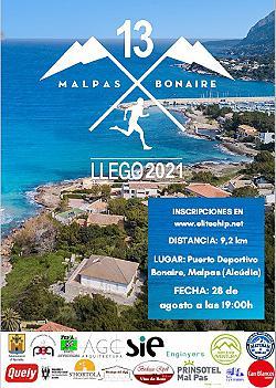 XIII Llego Malpas - Bonaire 2021