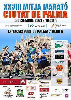 28a Caixabank Mitja Marató/ 10 Km Ciutat de Palma 2021