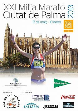 XXI Mitja Marató Ciutat de Palma 2013