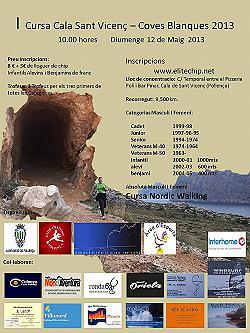 I Cursa Coves Blanques-Cala Sant Vicent 2013