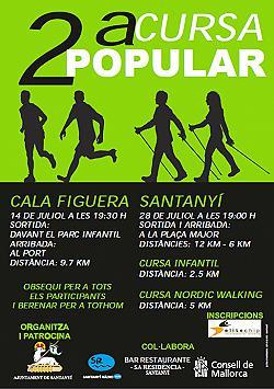 II Cursa popular Santanyi 2013