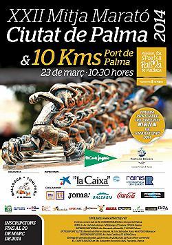 XXII Mitja Marató Ciutat de Palma 2014