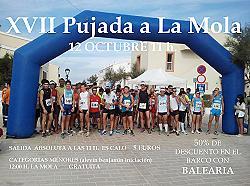 XVII Pujada a la Mola 2013