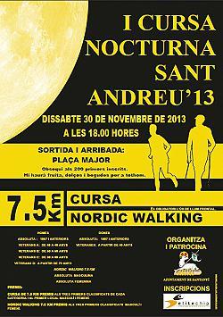 I Cursa Nocturna Sant Andreu Santanyi 2013