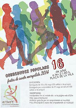 Cursa 50 Voltes Festes de Santa Margalida 2014