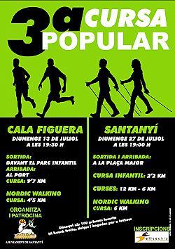 III Cursa popular Santanyi 2014