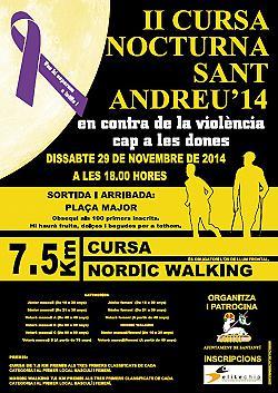 II Cursa Nocturna Sant Andreu Santanyi 2014