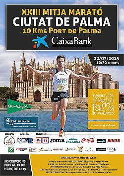 XXIII CaixaBank Mitja Marató Ciutat de Palma 2015