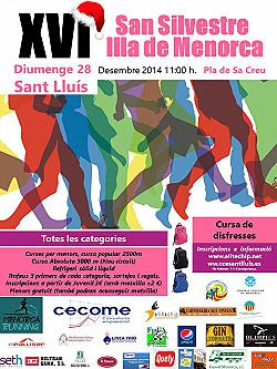 XVI Sant Silvestre Illa de Menorca 2014
