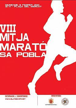 VIII Mitja marató de Sa Pobla 2015