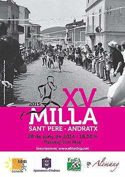 XV Milla Sant Pere - Andratx 2015
