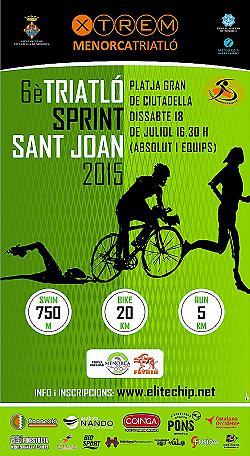 VI Triatló Sprint Sant Joan 2015