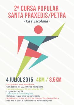 II Cursa Popular Santa Praxedis 2015