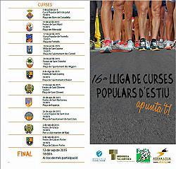 16ª Lliga de Curses Populars d'Estiu 2015