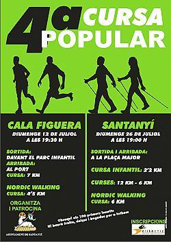 IV Cursa popular Santanyi 2015